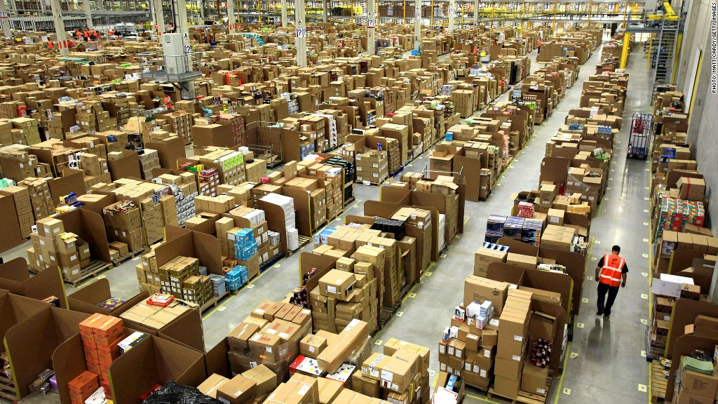 amazon warehouse