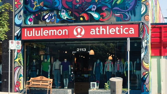 Lululemon soars on strong sales