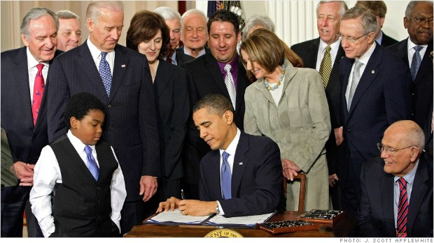 obamacare signing