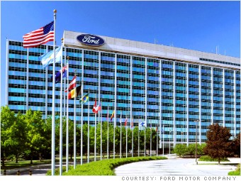 Ford motor co world 39 s top employers for new grads for Ford motor company pension calculator