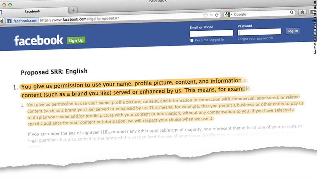 facebook policies