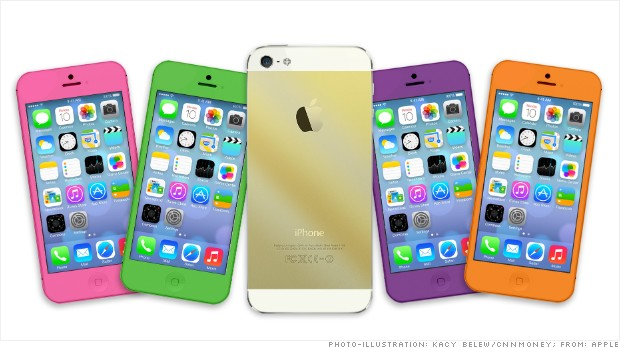 iphone 5 colors gold