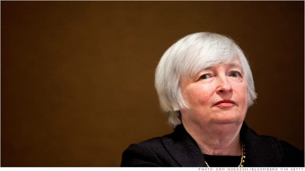janet yellen announcement