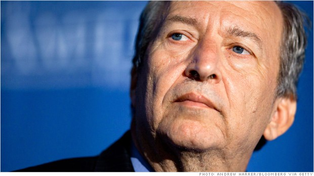 larry summers announcement