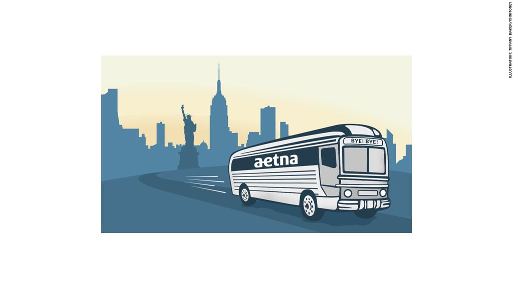 aetna leaves new york