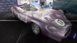 Mario Andretti's purple race car