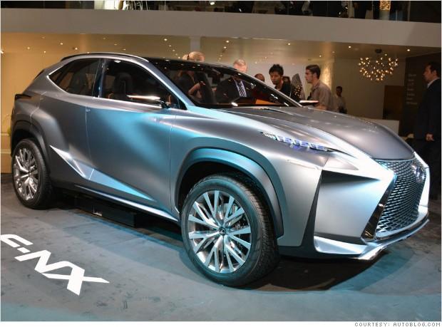 frankfurt auto show lexus if nx concept