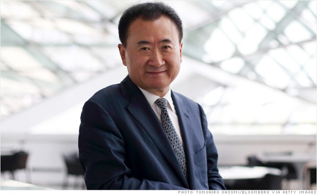 Wang Jianlin earned a  million dollar salary, leaving the net worth at 37600 million in 2017