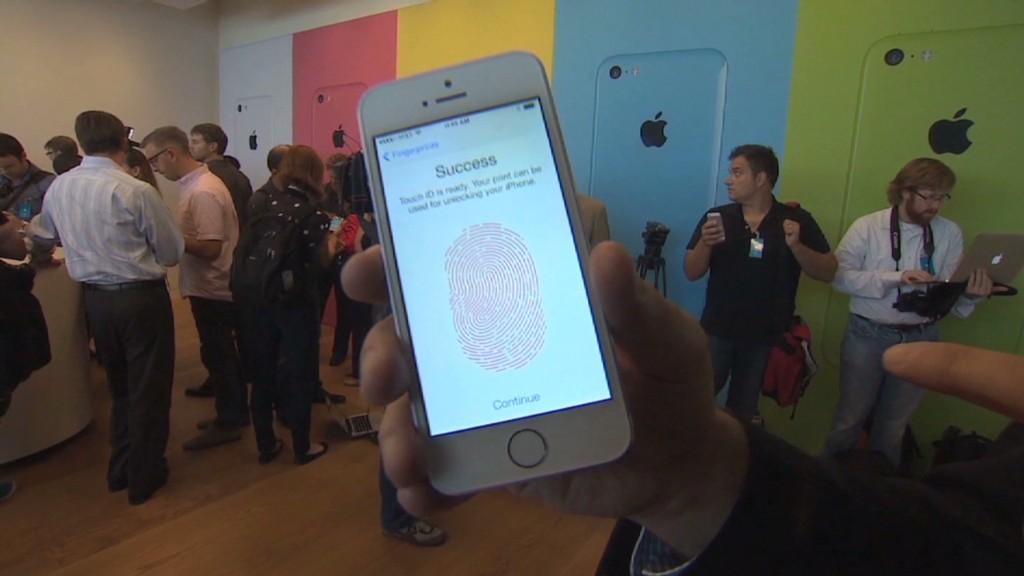 How the iPhone fingerprint scanner works