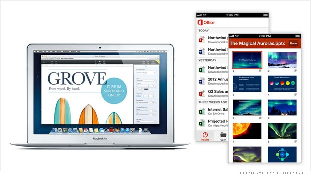 iwork microsoft app