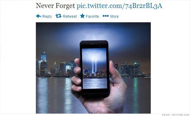 AT&T se disculpa por tuit del 11 de septiembre
