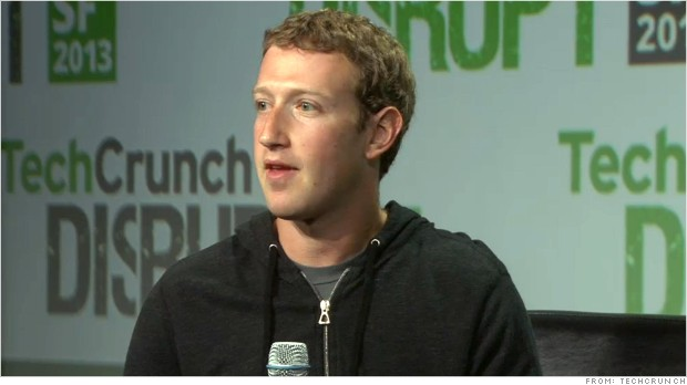 zuckerberg techcrunch disrupt