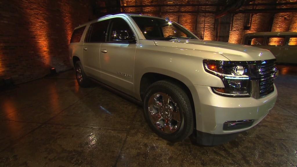 GM unveils allnew Cadillac Escalade  Oct 7 2013