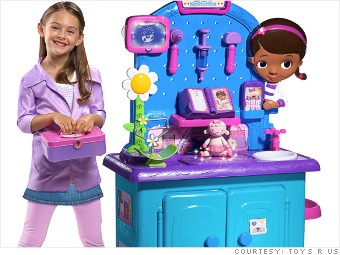 toysrus holiday doc mcstuffins