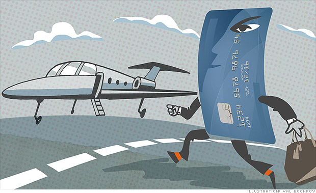blinged out credit cards private jet