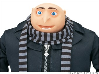 toys r us hot toys despicable me 2 gru