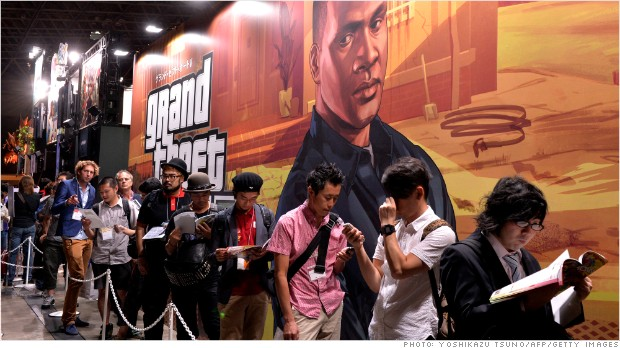Apple Auto Sales Inc >> 'Grand Theft Auto V' sales: $800 million in 24 hours - Sep. 19, 2013