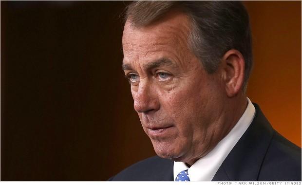 john boehner defund obamacare