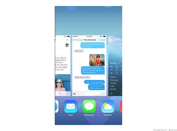 ios7 multitasking ios7