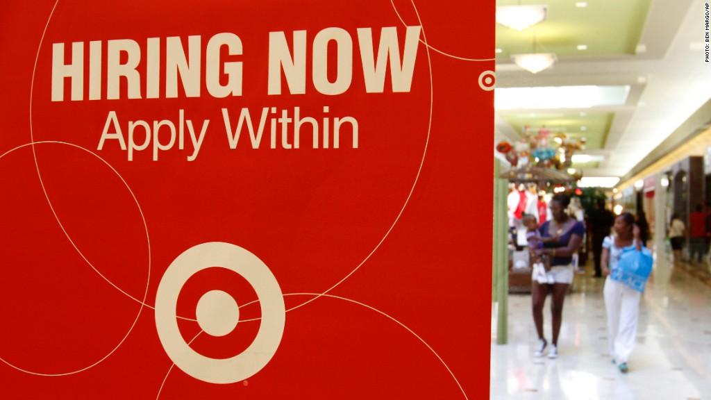 target stores holiday hiring