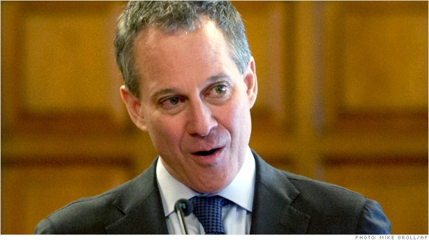 eric schneiderman high frequency trading