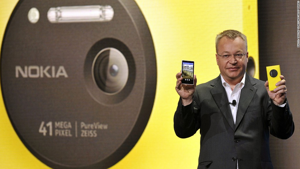 nokia ceo stephen elop payout