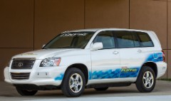 Taking Toyota's hydrogen car on the road
