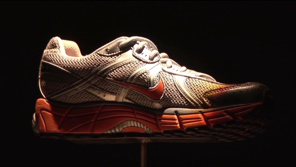 Nike's stock goes swoosh!