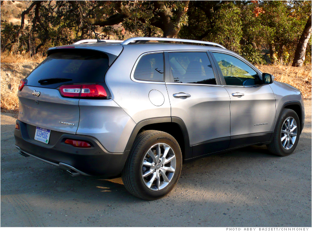 jeep cherokee rear