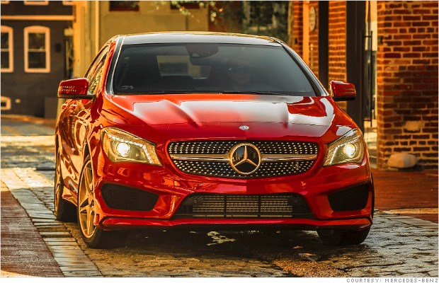 mercedes benz cla nose