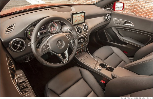 mercedes benz cla interior