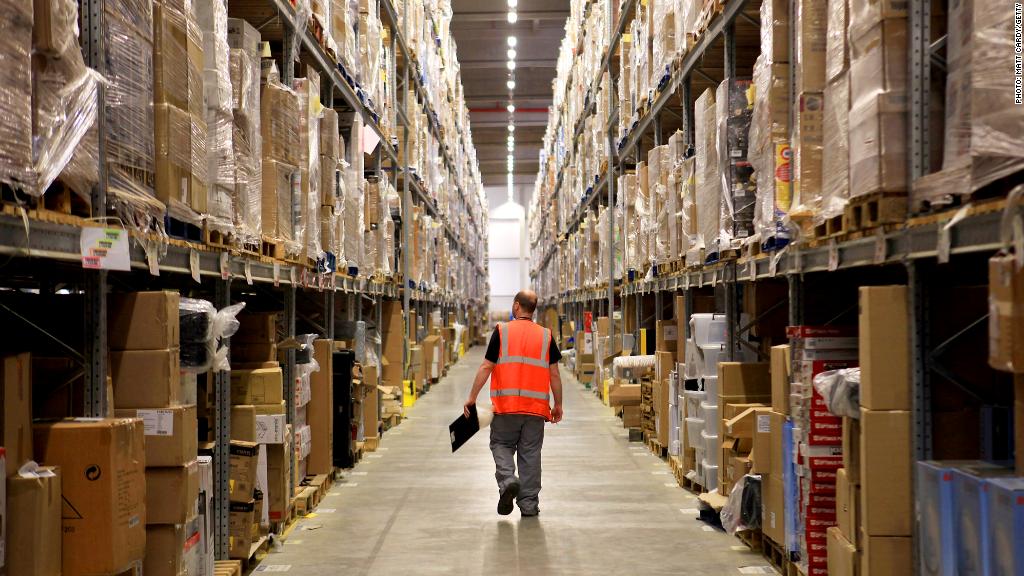 amazon employee warehouse