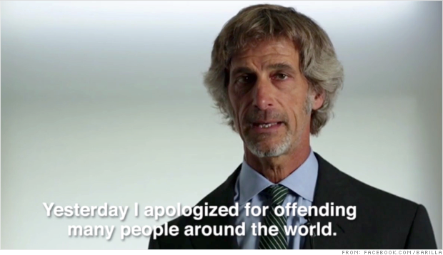 barilla ceo apology facebook