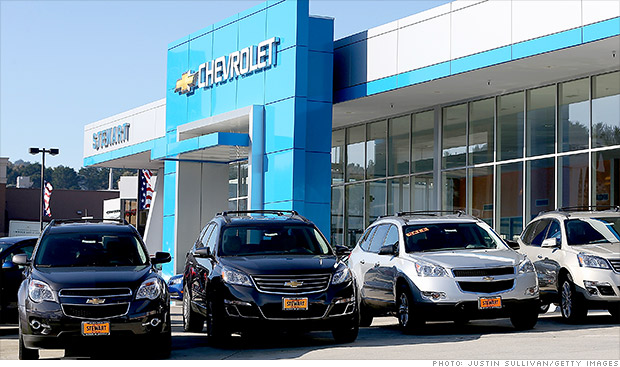chevrolet car sales