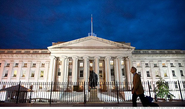Treasury Report Looks At Negative Effects Of Debt Ceiling