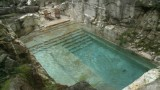 Swim in a luxurious quarry-turned-pool