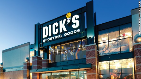 Dick's stock plunges on poor gun and sports sales