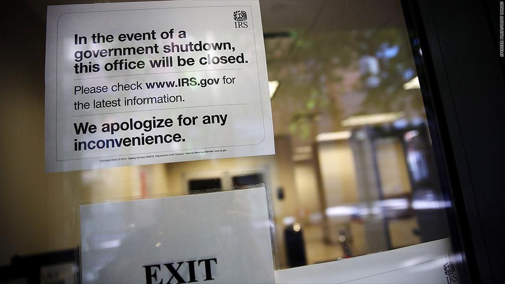 irs shutdown