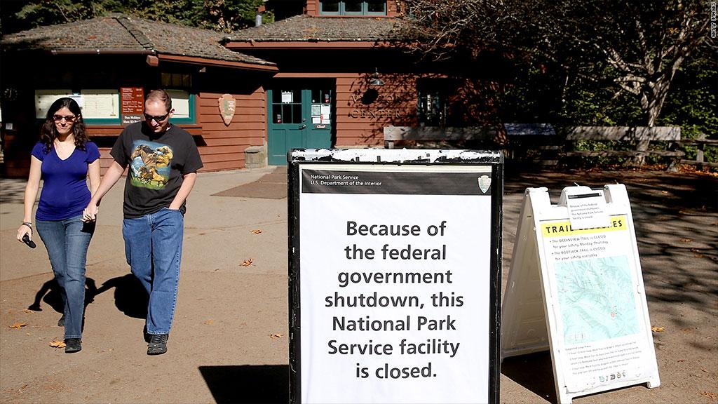 national park shutdown