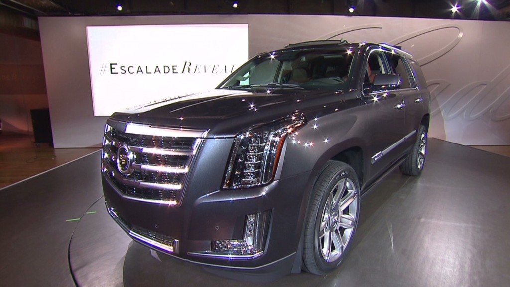 Peek inside the new Cadillac Escalade