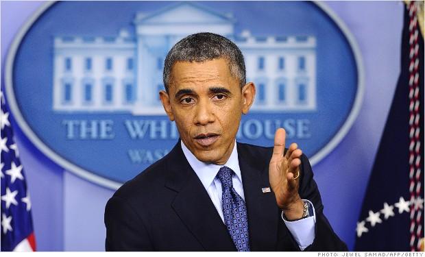 obama shutdown presser 100813