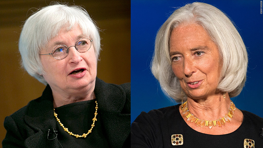yellen lagarde