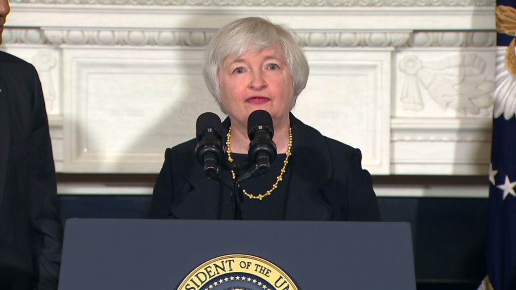 Janet Yellen and Obama in 2 minutes