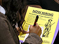Unemployment claims surge, partly due to shutdown