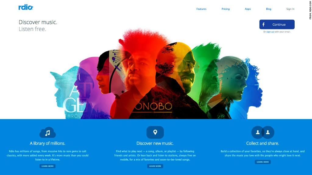 rdio online music