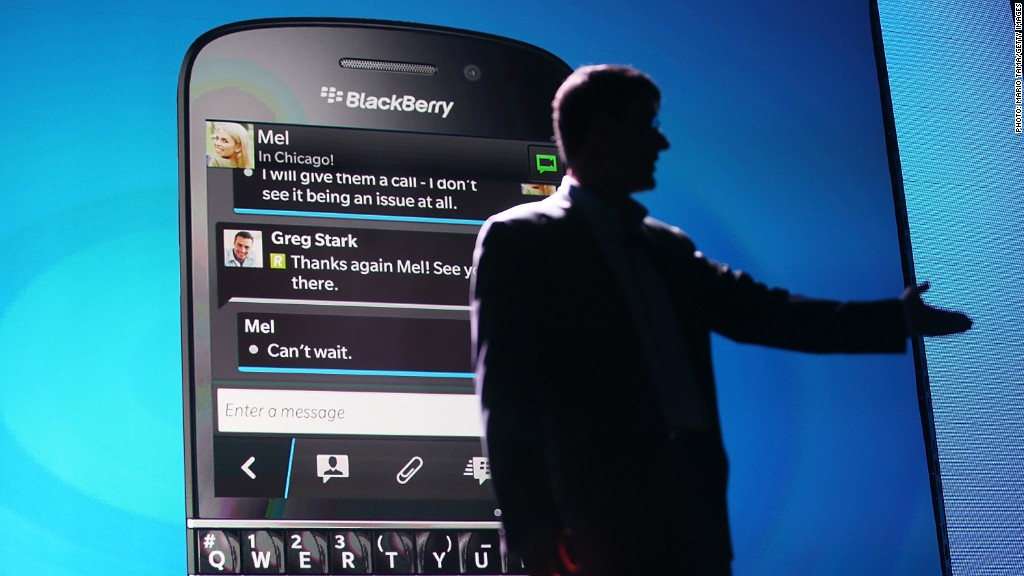 blackberry letter