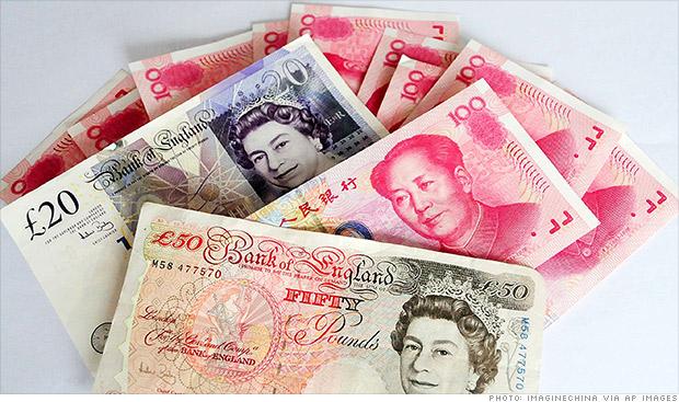 chinese yuan uk pound