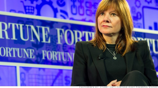GM's new CEO Mary Barra is no 'car girl'