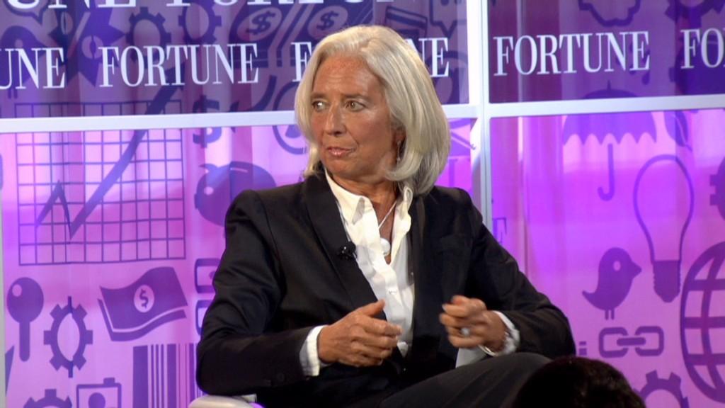 Lagarde to U.S.: Slow down, hurry up