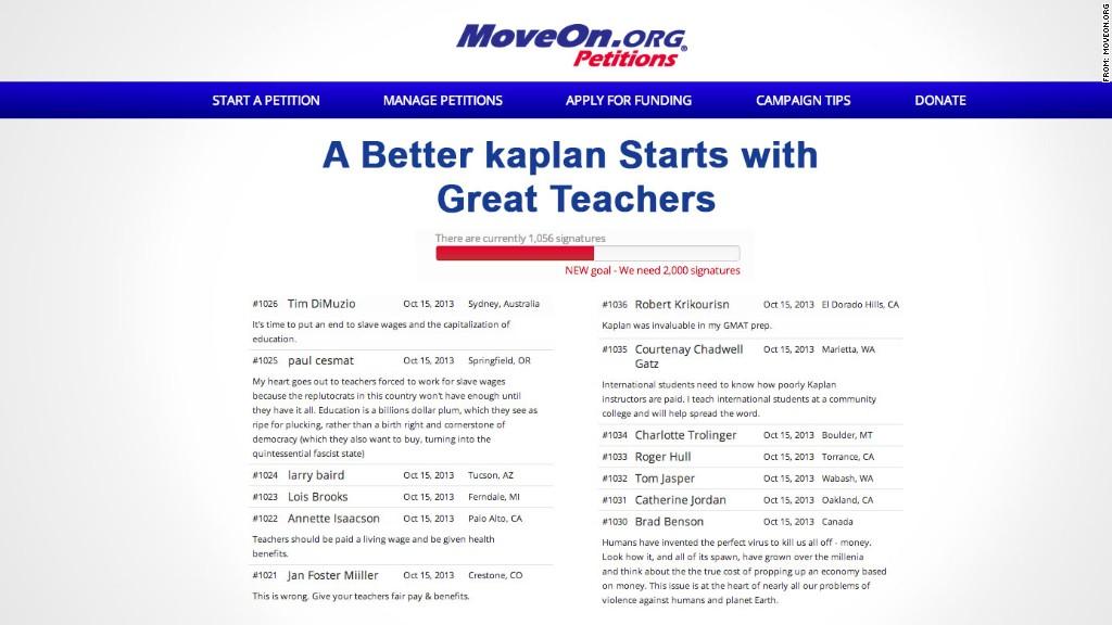 kaplan teachers